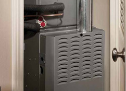 Geothermal Forced-Air Heat Pump Installation